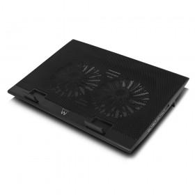 """Ewent EW1253 17"""" Zwart notebook cooling pad"""