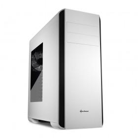 Sharkoon BW9000-W Midi-Toren Zwart, Wit computerbehuizing / ATX