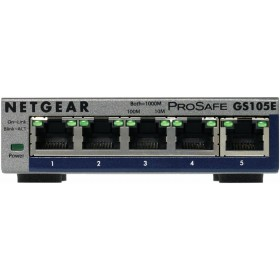 Netgear ProSafe Plus 5 Port Gigabit Ethernet Switch