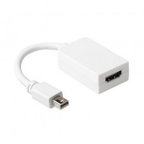 Ewent EW9861 DisplayPort HDMI Wit kabeladapter/verloopstukje