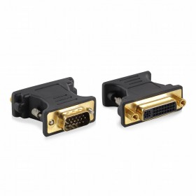 Ewent EW9851 VGA DVI-A Blauw kabeladapter/verloopstukje