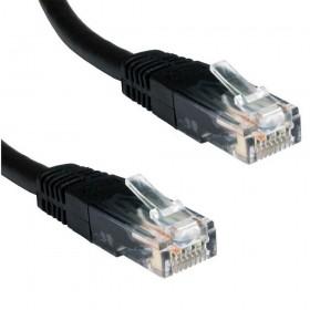 Ewent 5.0m Cat5e UTP 5m Cat5e U/UTP (UTP) Zwart netwerkkabel