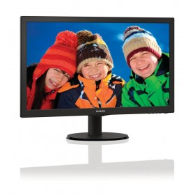 "Philips 223V5LSB/62 21.5"" Full HD LCD/TFT Zwart computer monitor LED display"