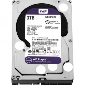 HDD WD Purple™ 3TB IntelliPower - 64MB