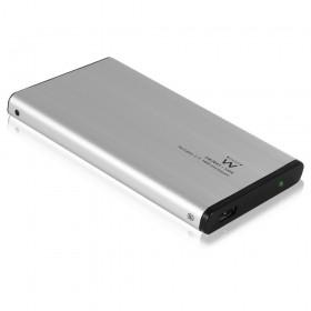 "Ewent EW7041 2.5"" Stroomvoorziening via USB Zwart opslagbehuizing"