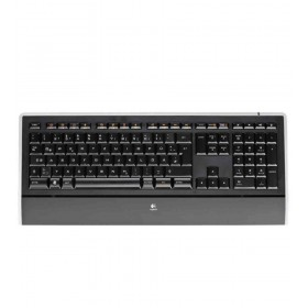 Logitech K740 USB QWERTY Internationaal EER + Noordzee Zwart toetsenbord