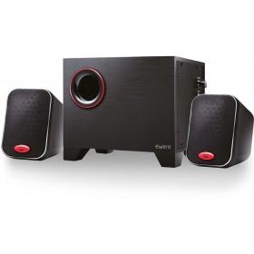 Ewent EW3505 2.1kanalen 15W Zwart luidspreker set