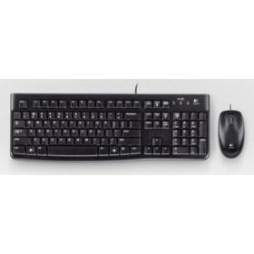 Logitech Ret. Wired Desktop MK120 US Layout
