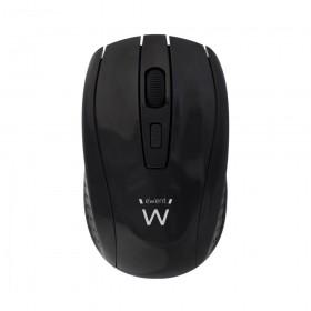 Ewent EW3235 RF Draadloos Optisch 1600DPI Ambidextrous Zwart muis