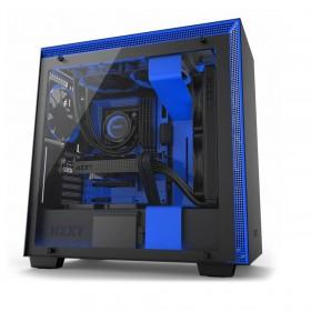 NZXT H700i Midi-Toren Zwart, Blauw