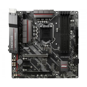 MSI Z370M MORTAR Intel Z370 LGA 1151 (Socket H4) Micro ATX moederbord