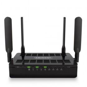 Eminent EM4720 Dual-band (2.4 GHz / 5 GHz) Gigabit Ethernet Zwart draadloze router