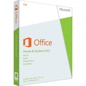 Microsoft Office 2013 Home and Student EU (IT)