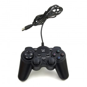 Ewent EW3170 Gamepad PC Zwart game controller
