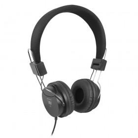 Ewent EW3573 koptelefoon Circumaural Hoofdband Zwart