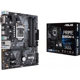 ASUS PRIME B360M-A Intel B360 LGA 1151 (Socket H4) microATX moederbord