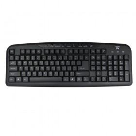 Ewent EW3130 USB QWERTY Engels Zwart toetsenbord