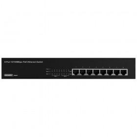 Eminent EM4431 Unmanaged Fast Ethernet (10/100) Power over Ethernet (PoE) Zwart netwerk-switch
