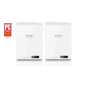 D-Link DHP-701AV/E Ethernet LAN Wi-Fi Wit 2stuk(s) PowerLine-netwerkadapter