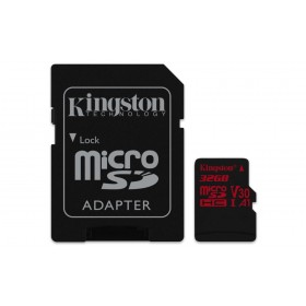 Kingston Technology Canvas React 32GB MicroSDHC UHS-I Klasse 10 flashgeheugen