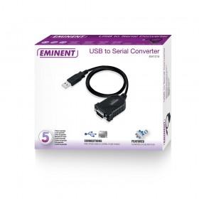 Eminent EM1016 0.6m Zwart USB-kabel