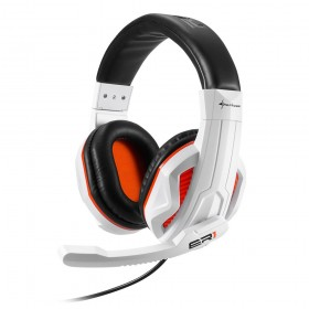 Sharkoon RUSH ER1 Stereofonisch Hoofdband Zwart, Wit hoofdtelefoon