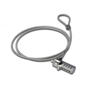 Ewent EW1241 1.5m Zilver kabelslot