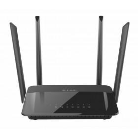 D-Link AC1200 Dual Band Dual-band (2.4 GHz / 5 GHz) Gigabit Ethernet Zwart draadloze router