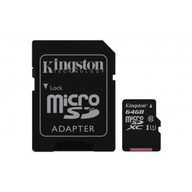 Kingston Technology Canvas Select 64GB MicroSD UHS-I Klasse 10 flashgeheugen