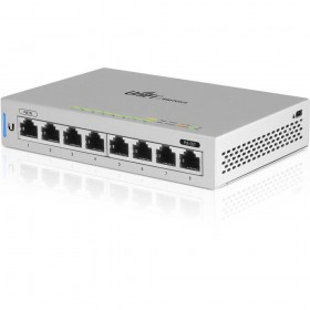 Ubiquiti Networks UniFi Switch 8 Managed Gigabit Ethernet (10/100/1000) Power over Ethernet (PoE) Grijs