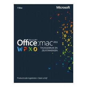 Microsoft Office 2011 Thuisgebruik en Zelfstandigen NL MAC
