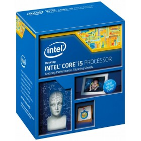 Intel Core ® ™ i5-4690K Processor (6M Cache, up to 3.90 GHz) 3.5GHz 6MB Smart Cache Box processor