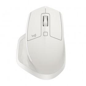 Logitech MX Master 2S muis RF draadloos + Bluetooth Laser 4000 DPI Rechtshandig Grijs, Wit