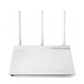 ASUS RT-N66W Dual-band (2.4 GHz / 5 GHz) Gigabit Ethernet 3G 4G Wit draadloze router