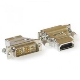 Ewent EW9852 DVI-D HDMI Zilver kabeladapter/verloopstukje