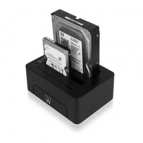 Ewent EW7014 Zwart HDD/SSD-dockingstation
