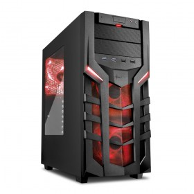 Sharkoon Case DG7000 / ATX / USB 3.0 / RED / ATX