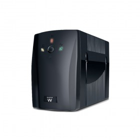Ewent EW3942 1000VA 2AC outlet(s) Toren Zwart UPS