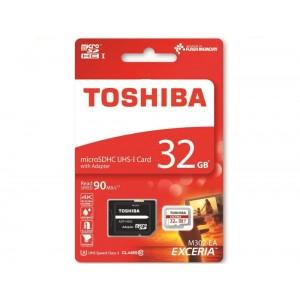 Toshiba EXCERIA M302-EA 32GB MicroSDHC UHS-I Klasse 10 flashgeheugen